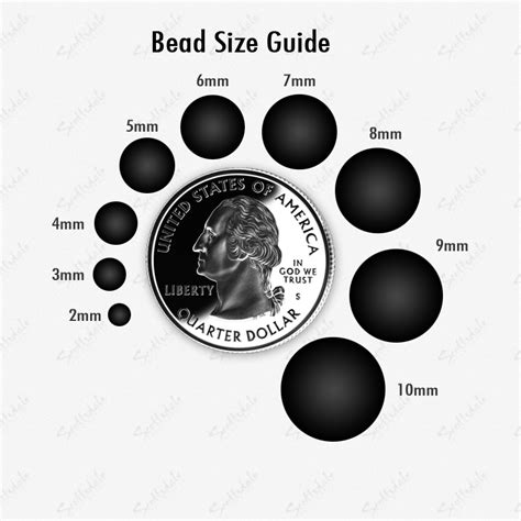 bead size bead guide images frompo 1