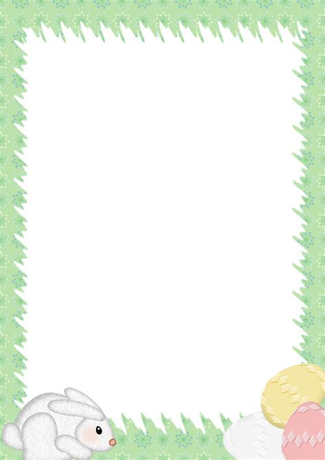 easter templates for word easter stationery microsoft word border templates