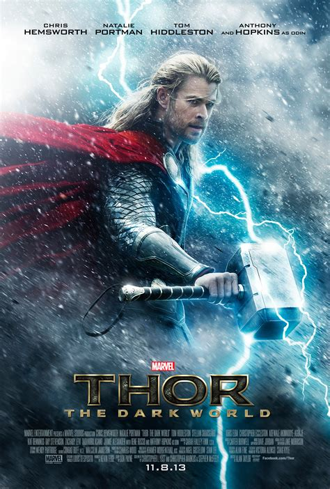 film thor 2 wiki thor 2 poster debut are you ready to enter the dark