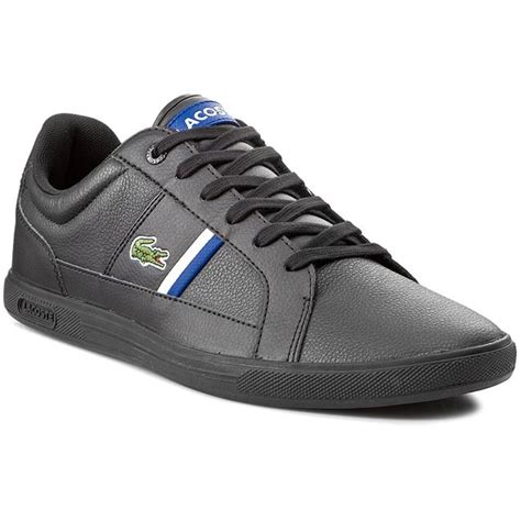 Rl 41070 01 Blk Blk sneakers lacoste europa tcl spm 7 30spm000802h black