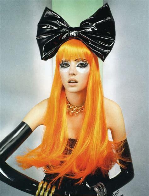 bright orange hair color lizzy