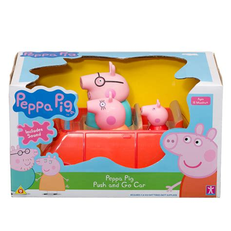 Toasters At Argos B Amp M Peppa Pig Push Amp Go Car 294122 B Amp M