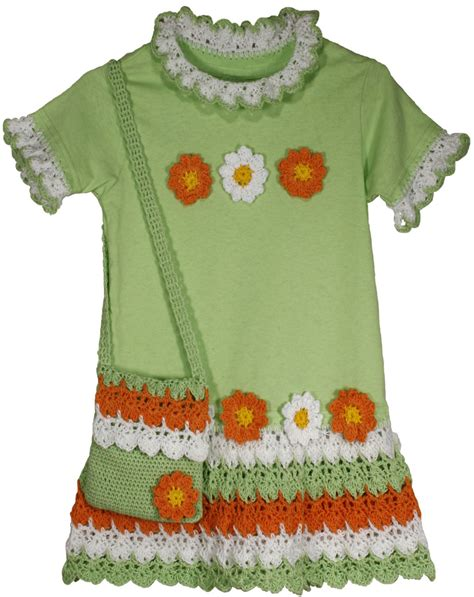 pattern for t shirt dress flower power t shirt dress crochet pattern pdf