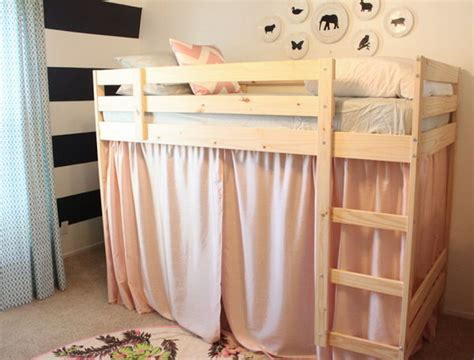 Bunk Bed Curtains Ikea 20 Awesome Ikea Hacks For Beds Hative