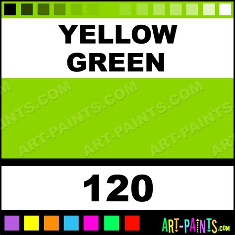 paint colors yellow green yellow green artists metal and metallic paints 120