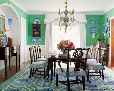 Blue And Green Dining Room by Green And Blue Dining Room Blue And White