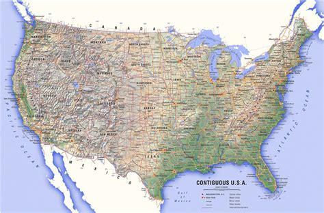 america map high quality usa atlas map