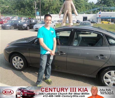 Century Kia by Thank You To Damian Mcaninch On The 2008 Hyundai Elantra F