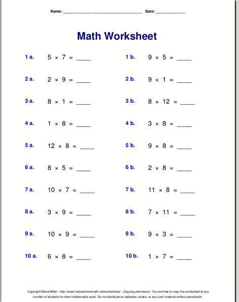 multiplication worksheets table of 7 multiplication worksheets for grade 3