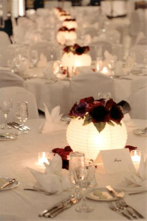 centerpieces with photos stunning decor with paper lanterns creative decor
