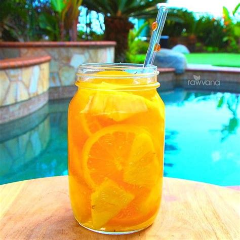 How To Make Pineapple Water Detox by 1000 Images About Rawvana Drinks On