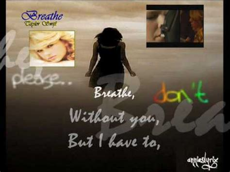 taylor swift breathe official music video breathe taylor swift feat colbie caillat official