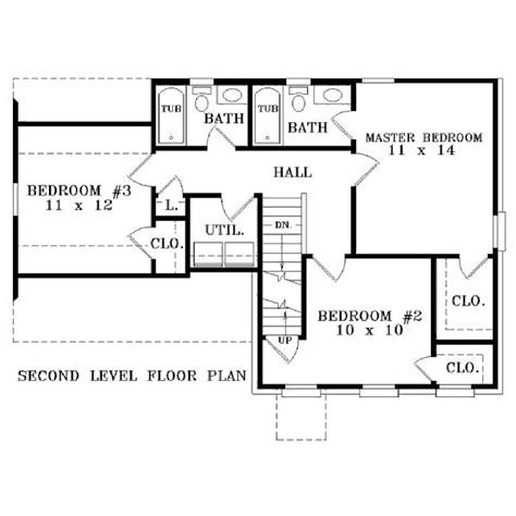 1300 square foot floor plans 1300 square 3 bedrooms 2 batrooms on 2 levels house plan 10976 all house plans