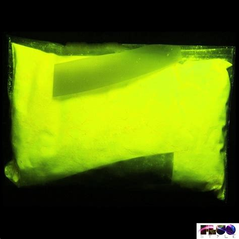 Fluorescent Luminescent Glow In The Additive Pigment