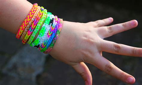 hair styes for with loom bands loom bands the rubber bracelet craze sweeping the nation