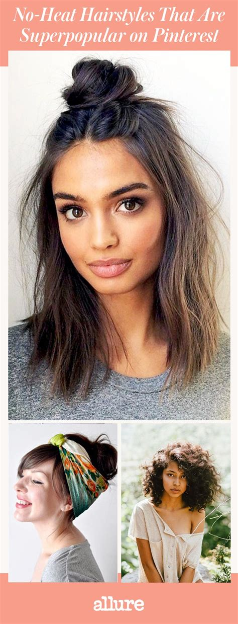 Hairstyles Hair no heat hairstyles that are superpopular on