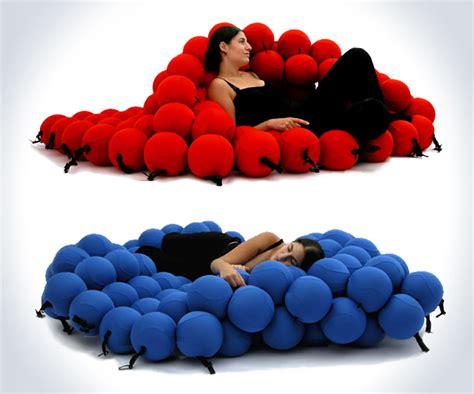 couch ball the balls lounger dudeiwantthat com
