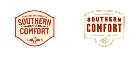 southern comfort label brand new new logo and packaging for southern comfort by