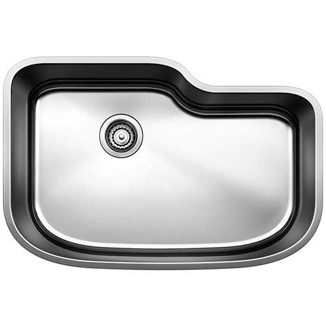 blanco stainless steel sink blanco stellar undermount stainless steel 28 in single