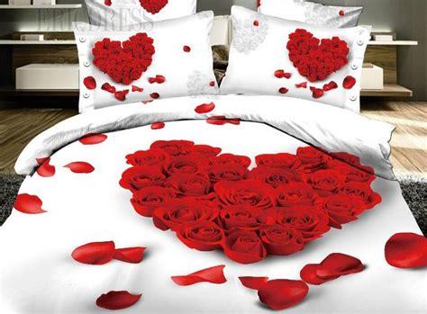 imagenes romanticas en la cama habitaciones rom 193 nticas con p 201 talos de rosa para mi novio
