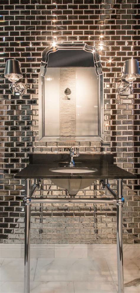 antique mirror glass backsplash tile best 25 mirror tiles ideas on antiqued mirror