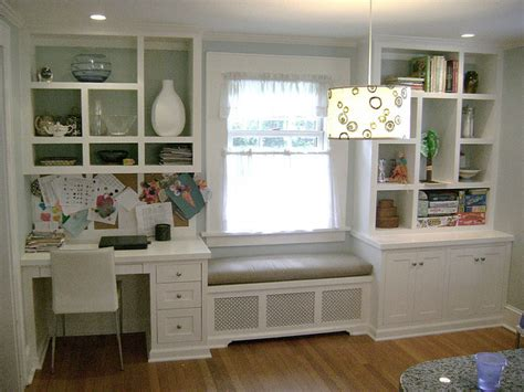 kitchen cabinet desk units kitchen desk window seat and boocase desks drawers and