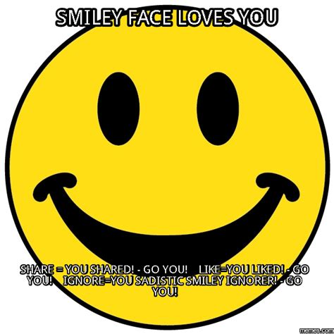 Meme Smiley - image gallery smiley face meme