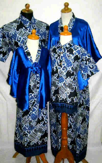 Setelan 4pcs mismis shop holic sarimbit batik murah meriah