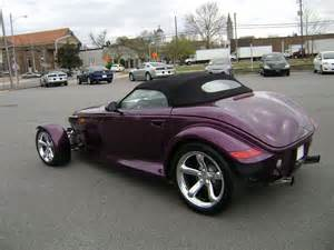 Chrysler Prowler Plymouth Prowler Why It S Underrated And Why It Deserves