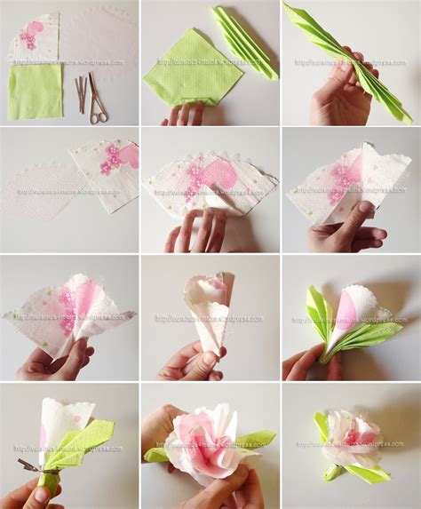 la cuisine à 4 mains pliage de serviettes en forme de roses pour vos f 234 tes
