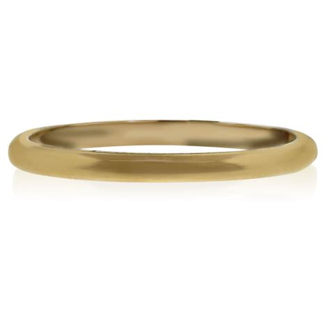 14k Yellow Gold Wedding Band by 14k Yellow Gold Thin Unisex Wedding Band Ring