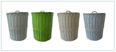 Keranjang Parcell rattan wicker basket rattan bike baskets rattan wicker storage baskets manufacturer from