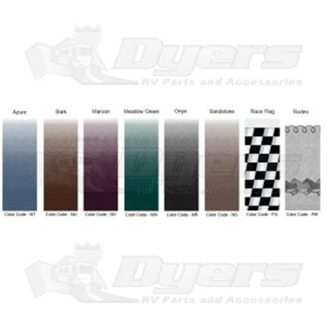 dometic rodeo 14 universal replacement awning fabric