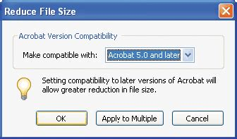 compress pdf reader xi how to reduce file size in acrobat xi adobe community