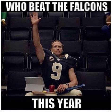 falcons memes funniest new orleans saints memes after being atlanta