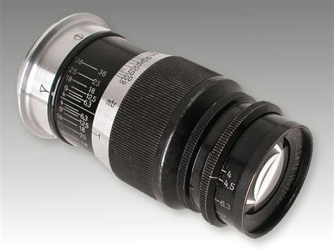 4 In 1 Honolulu Black 9cm leica ernst leitz wetzlar f 9cm 1 4 0 elmar telephoto lens