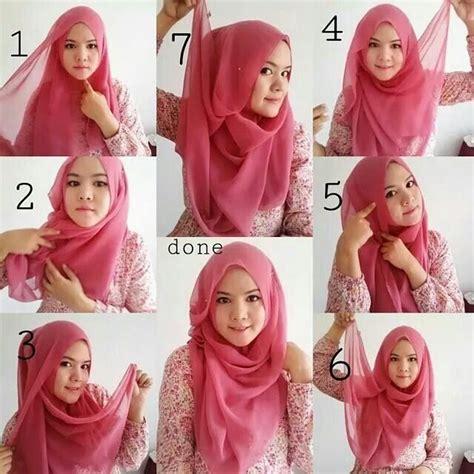 easy tutorial hijab segitiga  simple   hijabiworld