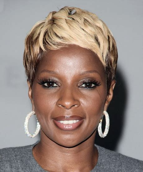 mary j blige hairstyle at the grammys mary j blige short hairstyles