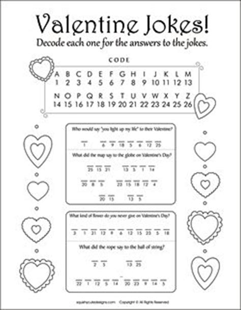 printable valentine jokes 56 best images about valentine coloring pages on pinterest