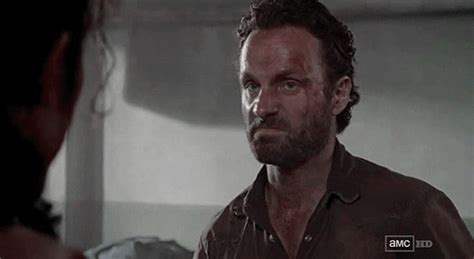 Rick Grimes Crying Meme - the walking dead rick gif find share on giphy