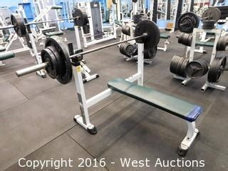 tuff stuff bench press west auctions complete liquidation of 22 000 sq ft fitness club
