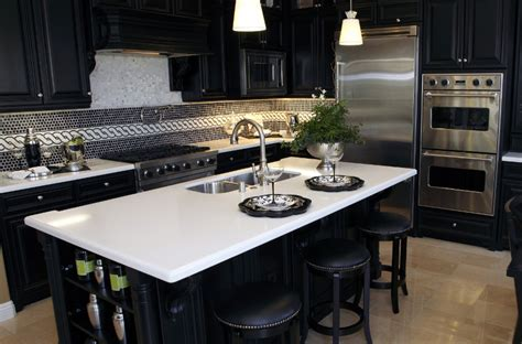 quartz kitchen countertop ideas quartz kitchen countertops pros and cons designing idea