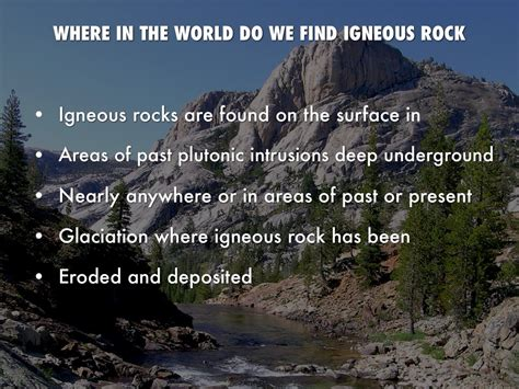 Find Where Are Igneous Rock By Gavin