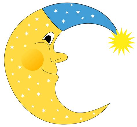 moon clipart sun and moon clipart free clipground