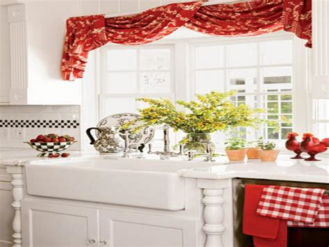 kitchen window curtain ideas