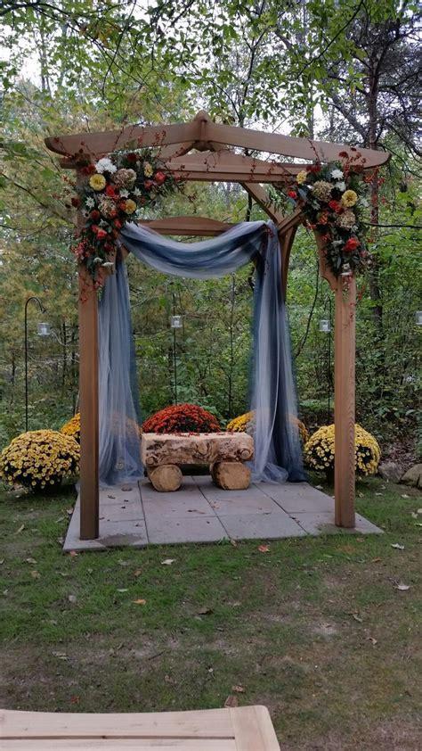The 25  best Wedding pergola ideas on Pinterest   Wedding