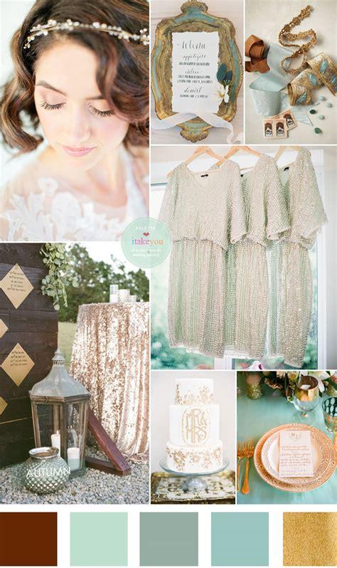 wedding colour themes uk vintage garden wedding theme mint olive sage and gold