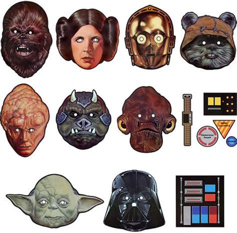 Wars Mask wars paper masks neatorama