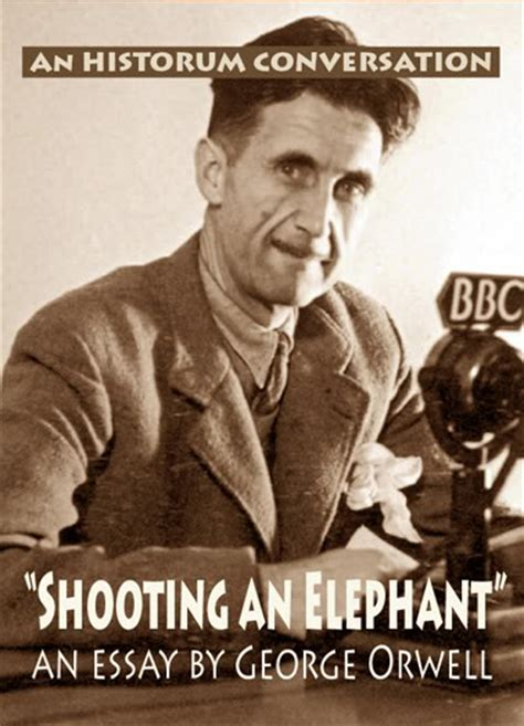 George Orwell Shooting An Elephant Essay by Shooting An Elephant George Orwell Essay Why Not Try Order A Custom Written Essay From Us