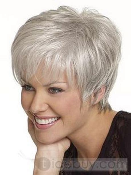 short styles for thick grey hair hairstyles for short gray hair